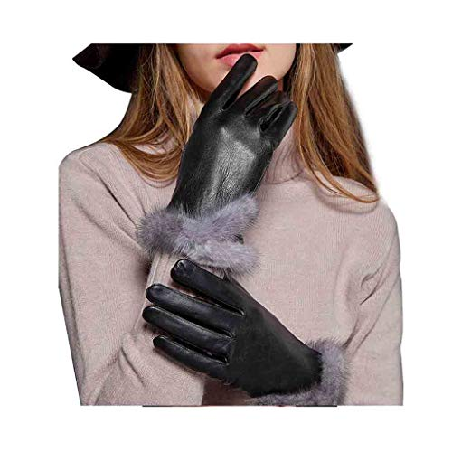 XY Gloves Winter Gloves Lady Warm Touch Screen Finger Gloves