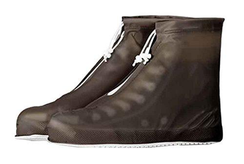 Praktische wasserdichte Überschuhe Regenstiefel Set rutschfeste Schuhpflege [B]