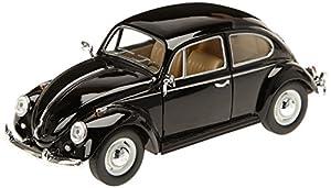 Kinsmart 7002WBK, Modelo de automóvil, Volkswagen Beetle, Escala 1/24, Colores Surtidos