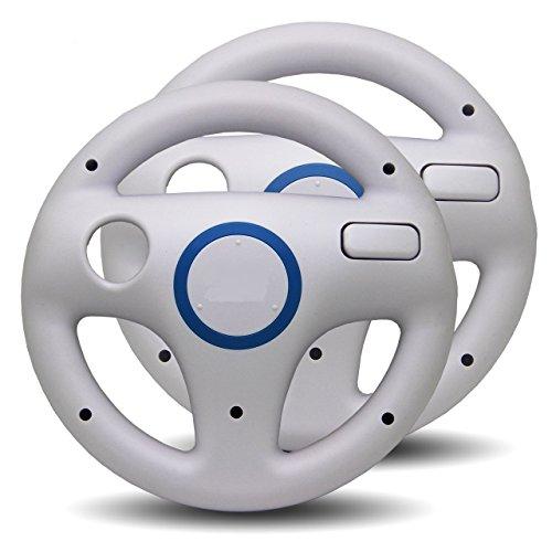 2x Volante Racing per Nintendo Wii -