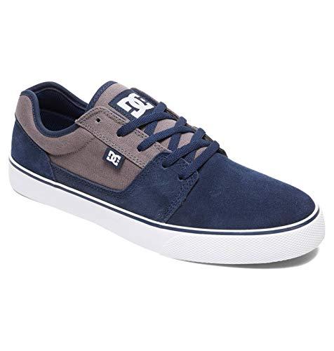 DC Shoes (DCSHI) Tonik - Low-Top Shoes for Men, Scarpe da Skateboard Uomo, Navy/Orange, 42.5 EU