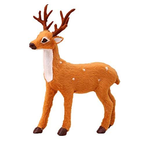 korationen Rentier Weihnachten Schaufenster Schaukasten Zuhause Party Dekor Ornament - M ()