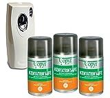 kenyasafe extra CUBEX Professional 3 bombole insetticida da 250 ml con erogatore Automatico