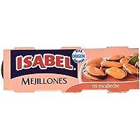 Isabel Mejillones en Salsa de Escabeche - Pack de 3 x 80 g - Total: 240 g
