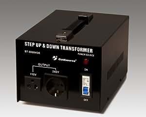 5000 Watt Transformateur / Convertisseur 110 /120 V - 220 / 240 V réversible 5000W