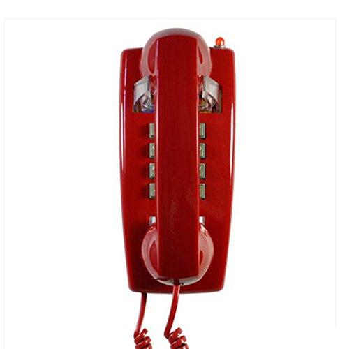 Liu Yu·kreative Heimat, Kreatives Haus wesentliche klassische High-End-Wand retro Telefon rotes Harz Metall Klingeltöne Fünf-Sterne-Hotel Versorgung Telefon Erweiterung