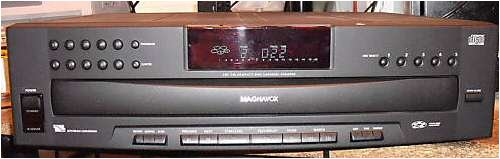 MAGNAVOX Philips 5 CD-Disc Changer cdc745