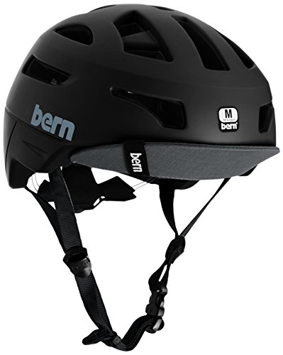 Bern Erwachsene Helm Union, Mattschwarz (ohne MIPS), Gr. M (55,5-59cm)