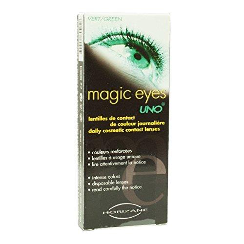 MAGIC EYES - Lentilles cosmétiques journalières vertes
