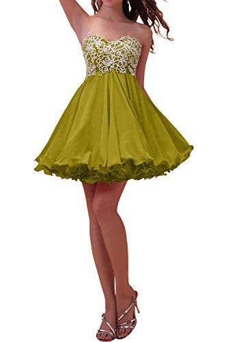 Ivydressing -  Vestito  - linea ad a - Donna Oliva