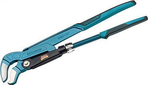 Eckrohrzange 1/2Zoll L.245mm blau einbrennlackiert flammgehärtet