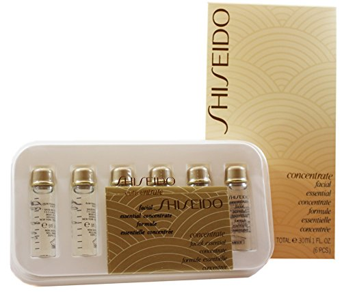 Shiseido Facial Concentrate femme/woman, Essential (6 x 5 ml), 1er Pack (1 x 6 Stück)
