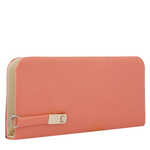 Awesome-Fashions-Womens-Clutch-Wallet-Peach