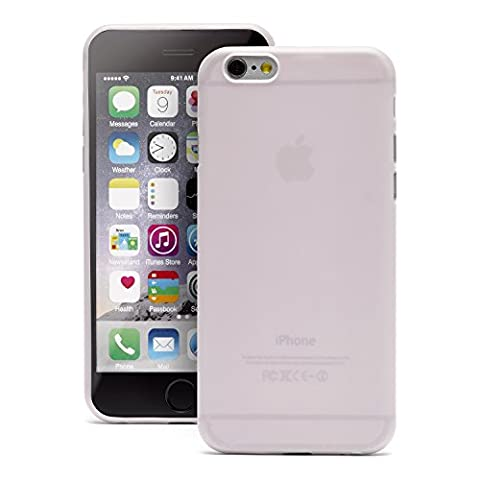 iProtect TPU Schutzhülle Apple iPhone 6, 6s Soft Case in matt Rosa