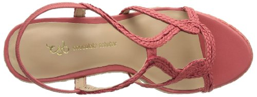 Chocolate Schubar - Bree, Sandali Donna Rosso (Rouge (Coral))