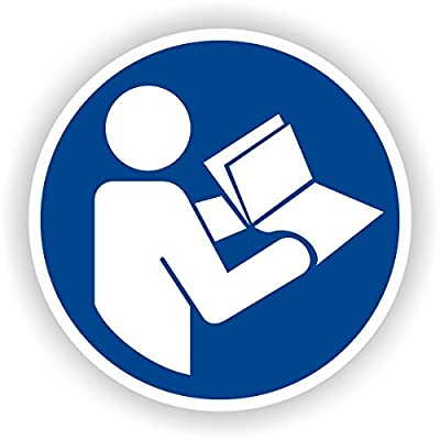 Gebrauchsanweisung beachten / Gebotszeichen / GE-47 / Sicherheitszeichen / Piktogramme / DIN EN ISO 7010