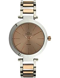 Maxima Analog Rose Gold Dial Women's Watch-O-56911CMLT