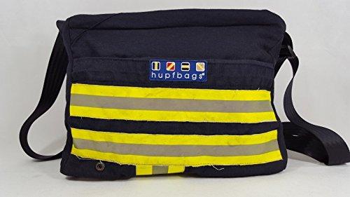 feuerwehrschlauch taschen hupfbags® Modell Purse, blau, 'Überrasch mich!'