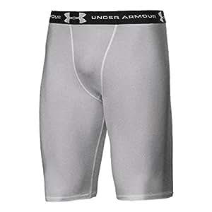 Under Armour HeatGear UA hommes de long Short de compression–gris Taille L/XL