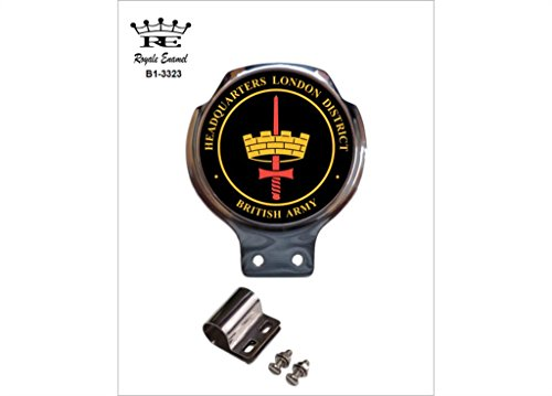 Royale Emaille Royale Auto Scooter Bar Badge-Headquarters London District B1. 3323