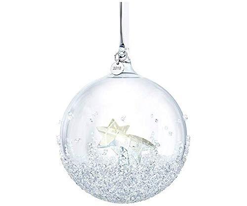 Swarovski Christmas Ball Ornament, A.E. 2018, Kristall, Mehrfarbig, 9.9 x 8 x 8 cm