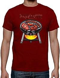 latostadora - Camiseta Barbacute Chico para Hombre