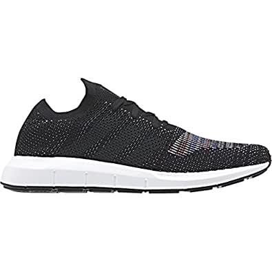 5ac2167fb Image Unavailable. Image not available for. Colour  adidas Mens Originals Mens  Swift Run Primeknit Trainers in Black ...