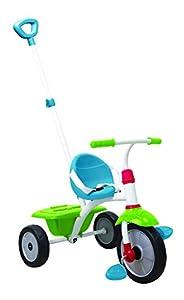 SMARTRIKE Fun Triciclo Dirección Delantera Niños - Triciclos (Niño, Dirección Delantera, Niños, Ruedas sólidas, Azul, Verde, Rojo, 15 Mes(es))
