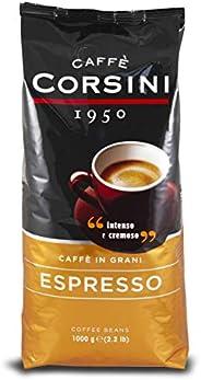 Caffè Corsini Caffè in Grani Espresso, Intenso e Cremoso, 1kg