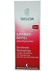 Weleda straffende Nachtpflege Gesicht / Hals Granatapfel, 1er Pack (1 x 30 ml)