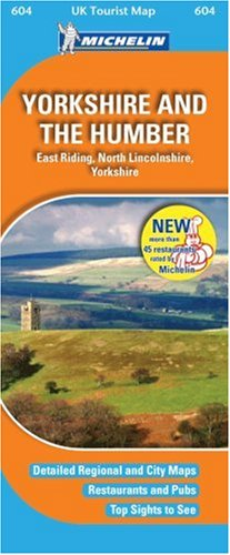 Yorkshire and the Humber (UK Tourist Maps)