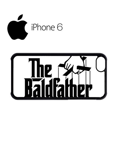 The Bald Father Cool Swag Mobile Phone Case Back Cover for iPhone 6 Black Blanc