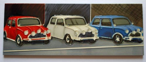 mini-coopers-italiano-trabajo-hecho-a-mano-de-ceramica-arte-de-la-pared-255