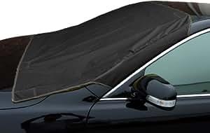 Xcellent Globale Anti-Frost Universal Auto Sonnenschutz Auto Abdeckungen Wasserdicht Windschutzscheibe / Vorderseite Frost & Winter-Schutz- Schwarz M-AT006