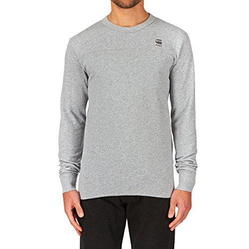 G-Star Herren Langarmshirt Prichard R Sw Long-Sleeve Grau (Grey)