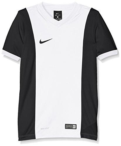 separation shoes d6dcd 1fc3f Nike SS YTH Park Derby Jersey Camiseta, Niños, Blanco Negro (White