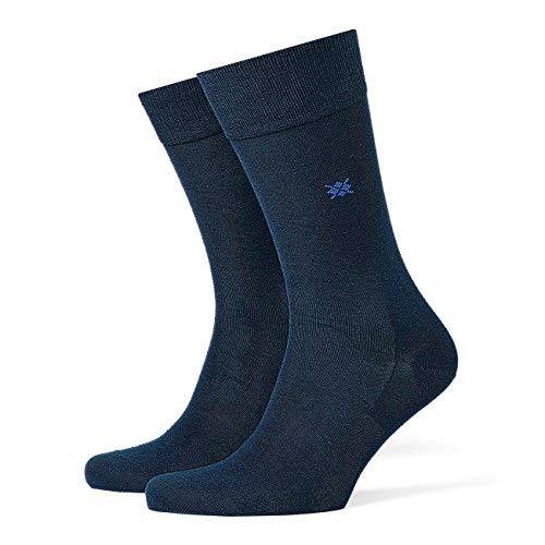 Burlington Herren Socken Dublin 2er Pack, Größe:40-46;Farbe:Marine (6120) Dublin Slip