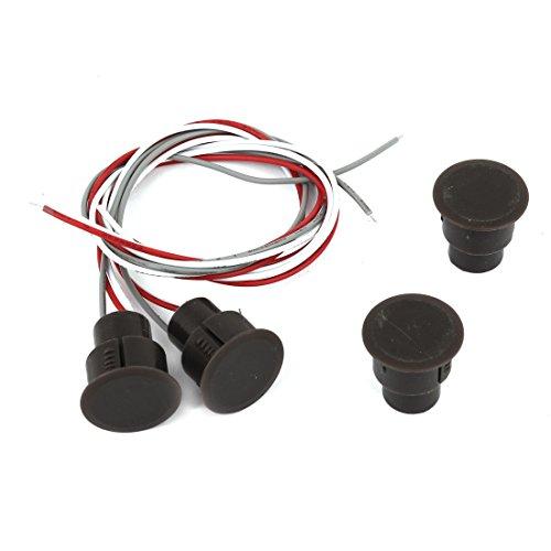 Sourcingmap - Porta magnetica Reed Interruttori; Tipo di contatto: NO / NC, normalmente aperto / normalmente chiuso; Contatto Capacità: 0,5