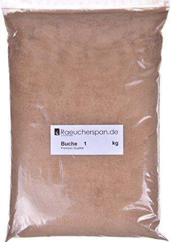 Räucherspäne Räuchermehl Buche Typ 1 zum Kalträuchern 5kg