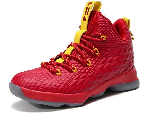 SINOES Sneaker Kinder Schuhe Jungen Sportschuhe Mädchen Kinderschuhe Outdoor Basketball Schuhe Sportart Turnschuhe Hallenschuhe Sport Schuhe Mädchen Laufschuhe für Unisex-Kinder (Mädchen Schuhe Basketball)