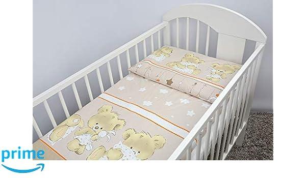 2 Pcs Crib//Cradle//Pram Bedding Set 70x80cm Duvet Cover /& Pillowcase Pattern 24