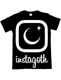 The Dead Generation Instagoth Moon T Shirt - Alternative Gothic Clothing For Women by Luna Cult