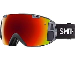 Smith Recon Masque de ski Black/Red Solx/Sensor