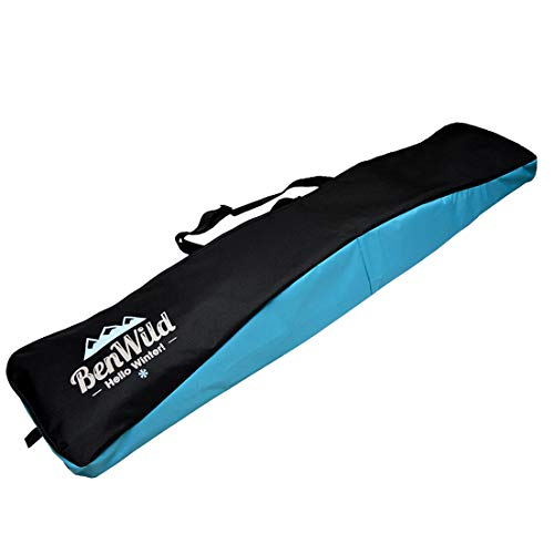 Rawstyle Snowboard Tasche, Boardbag, Snowboardbag, 170cm, XXL (schwarz-türkis)