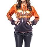 Best Topps Hands - DAYSEVENTH WOMEN-TOPS Clearance Ladies Halloween Grimace Pumpkin Shantou Review