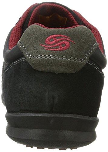 Dockers by Gerli Herren 34sa801-201120 Sneaker Schwarz (Schwarz/Grau)