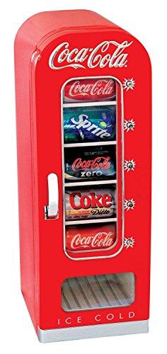 Coca-Cola CFV18 Getränkespender / Kühlschrank im Retro-Stil für 10 Dosen