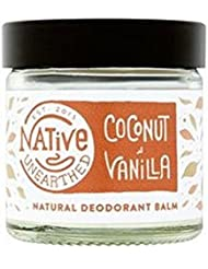 Native Unearthed Natural Deodorant, Coconut/Vanilla, 60 ml