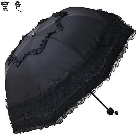 ZQ@QX ZQ@QX ZQ@QX Spessore di pizzo nero in gomma ombrelli ombrello per la prossoezione solare , nero | Distinctive  | Meno Costosi Di  eca885