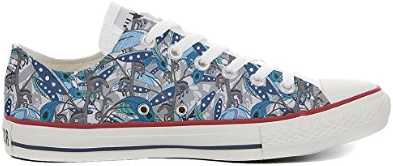 Make Your Shoes Converse All Star Slim Personalisierte Schuhe (Handwerk Produkt) Horse Feathers